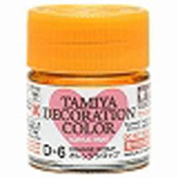 デコレーションカラーD-6:オレンジシロップ(タミヤデコレーションシリーズ)