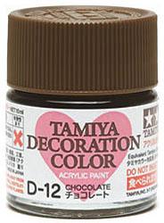 デコレーションカラーD-12:チョコレート(タミヤデコレーションシリーズ)