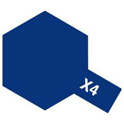 タミヤカラー エナメル X-4 ブルー (光沢)