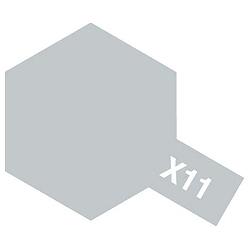 タミヤカラー エナメル塗料 光沢 X11 クロムシルバー 10ml 80011