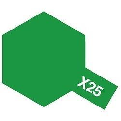タミヤカラー エナメル X-25 クリヤーグリーン (光沢)