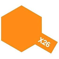 タミヤカラー エナメル X-26 クリヤーオレンジ (光沢)