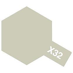 タミヤカラー エナメル X-32 チタンシルバー (光沢)