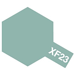 タミヤカラー エナメル XF-23 ライトブルー (つや消し)