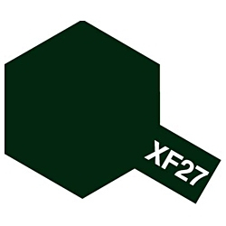 タミヤカラー エナメル XF-27 ブラックグリーン (つや消し)