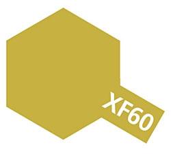 タミヤカラー エナメル XF-60 ダークイエロー (つや消し)