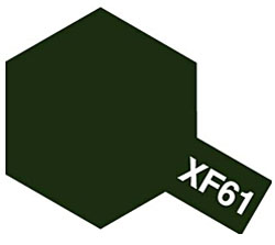 タミヤカラー エナメル XF-61 ダークグリーン (つや消し)
