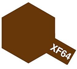 タミヤカラー エナメル XF-64 レッドブラウン (つや消し)