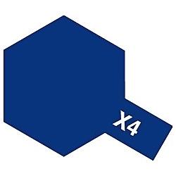 タミヤカラー アクリルミニ X-4 ブルー (光沢)