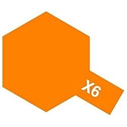 タミヤカラー アクリルミニ X-6 オレンジ (光沢)