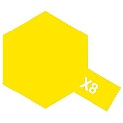タミヤカラー アクリルミニ X-8 レモンイエロー (光沢)