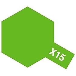 タミヤカラー アクリルミニ X-15 ライトグリーン (光沢)