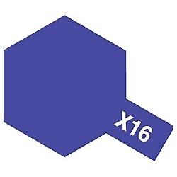 タミヤカラー アクリルミニ X-16 パープル (光沢)