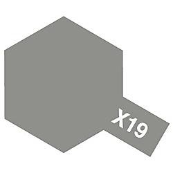 タミヤカラー アクリルミニ X-19 スモーク (光沢)