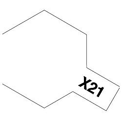 タミヤカラー アクリルミニ X-21 フラットベース (光沢)