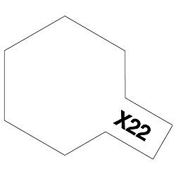 タミヤカラー アクリルミニ X-22 クリヤー (光沢)