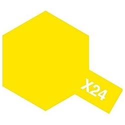 タミヤカラー アクリルミニ X-24 クリヤーイエロー (光沢)