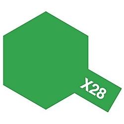タミヤカラー アクリルミニ X-28 パークグリーン (光沢)