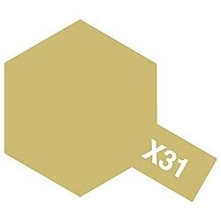 タミヤカラー アクリルミニ X-31 チタンゴールド (光沢)