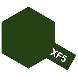 タミヤカラー アクリルミニ XF-5 フラットグリーン (つや消し)