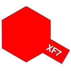 タミヤカラー アクリルミニ XF-7 フラットレッド (つや消し)