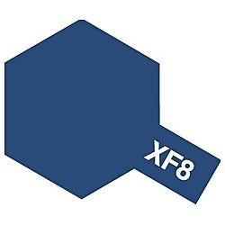 タミヤカラー アクリルミニ XF-8 フラットブルー (つや消し)