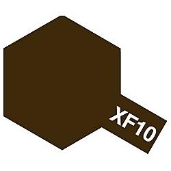 タミヤカラー アクリルミニ XF-10 フラットブラウン (つや消し)