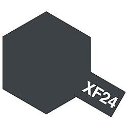 タミヤカラー アクリルミニ XF-24 ダークグレイ (つや消し)