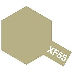 タミヤカラー アクリルミニ XF-55 デッキタン (つや消し)