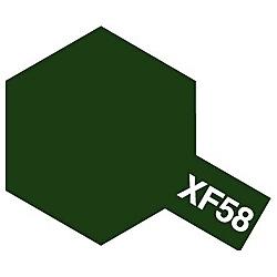 タミヤカラー アクリルミニ XF-58 オリーブグリーン (つや消し)