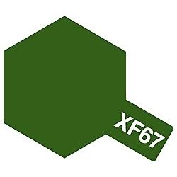 タミヤカラー アクリルミニ XF-67 NATOグリーン (つや消し)