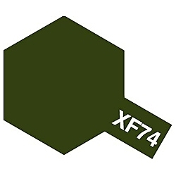 タミヤカラー アクリルミニ XF-74 OD色(陸上自衛隊) (つや消し)
