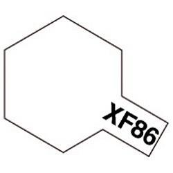 タミヤカラー アクリルミニXF86フラットクリヤー (つや消し)