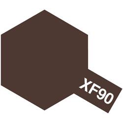 アクリル塗料ミニ XF-90 レッドブラウン2(ドイツ陸軍)