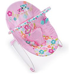 Kids IIJapan(キッズツージャパン) Bright Starts ブライトスターツ バウンサー ファンシフルフラワーズ バイブレーティングバウンサー 0ヶ月~ (11479) by Kids II