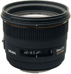 SIGMA 50mm F1.4 EX DG HSM (SIGMA SA)