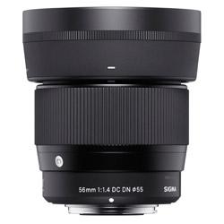 カメラレンズ 56mm F1.4 DC DN Contemporary【マイクロフォーサーズマウント】 56mmF1.4DCDN(C) [マイクロフォーサーズ /単焦点レンズ]
