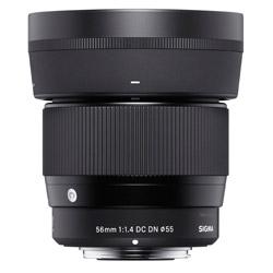 カメラレンズ 56mm F1.4 DC DN Contemporary【ソニーEマウント】 56mmF1.4DCDN(C) [ソニーE /単焦点レンズ]