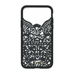 iPhone X用 katespade Lace Cage Case Lace Hummingbird ブラック KSIPH077LCBK KSIPH-077-LCBK