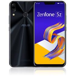 ASUS(エイスース) ZenFone 5Z (ZS620KL) シャイニーブラック 「ZS620KL-BK128S6」 6.2型 nanoSIMx2