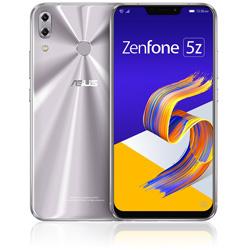 ASUS(エイスース) ZenFone 5Z (ZS620KL) スペースシルバー 「ZS620KL-SL128S6」 6.2型 nanoSIMx2