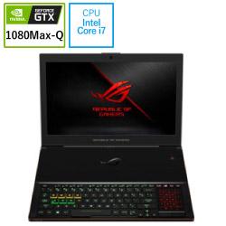 ゲーミングノートパソコン ROG ZEPHYRUS ブラック GX501GI-I7G1080Q [15.6型 /intel Core i7 /SSD:512GB /メモリ:24GB /2018年6月モデル]