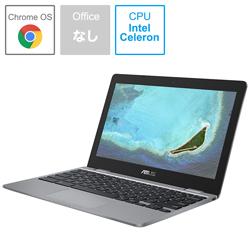 ASUS(エイスース) ノートパソコン Chromebook (クロームブック) C223NA グレー C223NA-GJ0018 [11.6型 /intel Celeron /eMMC:32GB /メモリ:4GB /2020年6月モデル]