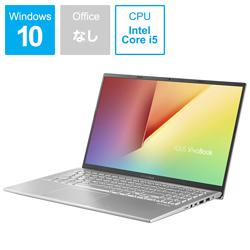 ノートPC VivoBook 15 X512FA-826G512 トランスペアレントシルバー [Core i5・15.6インチ・SSD 512GB・メモリ 8GB]