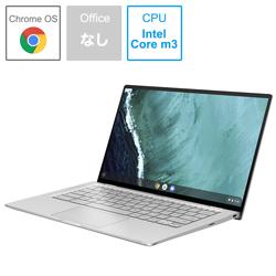 ASUS(エイスース) モバイルノートPC Chromebook Flip C434TA-AI0095 シルバー [Chrome OS・Core m3・14.0インチ・eMMC 32GB]