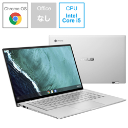 ASUS(エイスース) C434TA-AI0115 ノートパソコン Chromebook Flip シルバー [14.0型 /intel Core i5 /eMMC:64GB /メモリ:8GB /2019年9月モデル]
