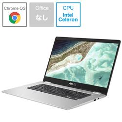 ASUS(エイスース) ノートPC Chromebook C523NA-EJ0130 シルバー [Celeron・15.6インチ・eMMC 64GB・メモリ 8GB]
