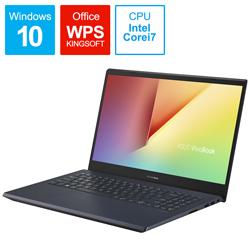 ASUS(エイスース) ノートパソコン  スターブラック X571LH-AL084T [15.6型 /intel Core i7 /Optane:32GB /SSD:512GB /メモリ:16GB /2020年7月モデル]