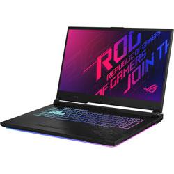 G712LV-I7R2060 ゲーミングノートパソコン ROG Strix G17 ブラック [17.3型 /intel Core i7 /SSD:512GB /メモリ:16GB /2020年7月モデル]
