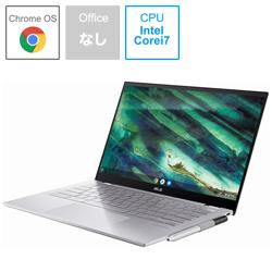 ASUS(エイスース) ノートパソコン Chromebook (クロームブック) Flip エアロジェルホワイト C436FA-E10162 [14.0型 /intel Core i7 /SSD:512GB /メモリ:16GB /2020年10月モデル]
